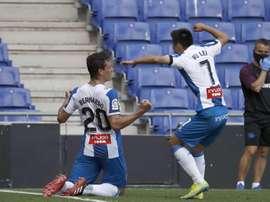 Wu Lei scored for Espanyol. EFE
