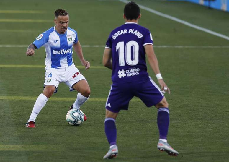El Valladolid se centra en reforzar el centro del campo. EFE/Ballesteros