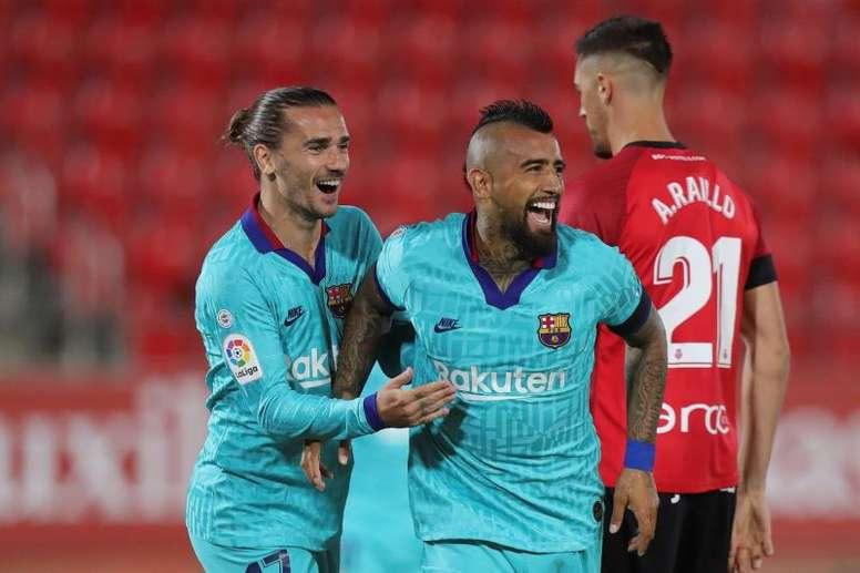 Accord entre le Barça et l'Inter Milan pour Vidal. EFE