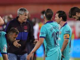 Le groupe du FC Barcelone pour affronter Leganés. EFE