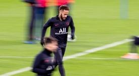 PSG retornou aos treinos no final de junho. EFE/ Rodrigo Jiménez/Arquivo