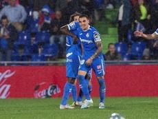 Arambarri sería una de las nobedades del Getafe ante el Espanyol. EFE