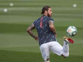 Sergio Ramos veut se battre jusqu'à la fin. EFE