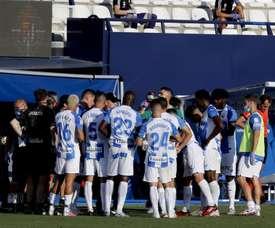 La hoja de sancionados del 'Lega': Recio, Awaziem y Silva. EFE
