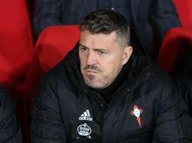 El técnico del Celta cree que Renato Tapia aportará mucho al grupo. EFE
