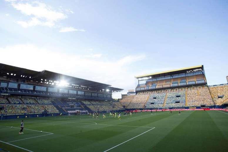 Villarreal have announced a COVID-19 positive. EFE