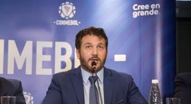 La CONMEBOL anuncia nuevas ayudas económicas a sus federaciones. EFE