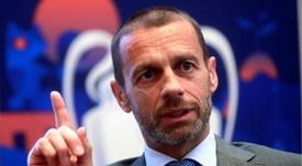 La UEFA ha definido la vuelta de las competiciones. EFE