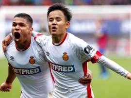 O Barça se queixa das exigências de Kubo. EFE