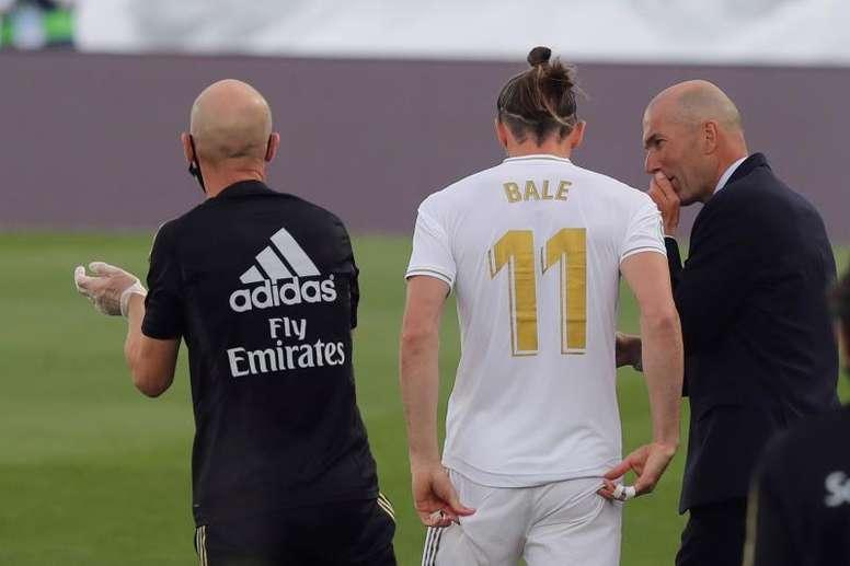 Ramon Calderon analyse la situation de Bale au Real. EFE