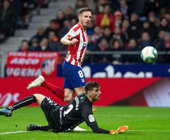 Saúl não jogará a última partida do Campeonato Espanhol. EFE/Rodrigo Jiménez
