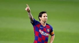 El Inter no llegó a plantearse siquiera el fichaje de Messi. EFE