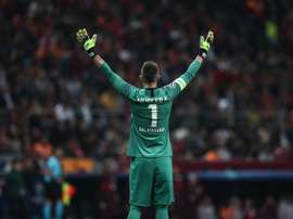 Fernando Muslera is the only Galatasaray player who is not for sale. EFE