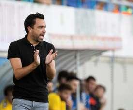 Xavi Hernández fica mais um ano no Al Sadd. EFE/David Borrat