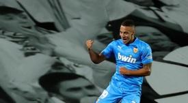 Rodrigo tem contrato com o Valencia até 2022. EFE/JuanJo Martín