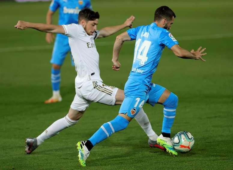Fede Valverde y Maxi Gómez, dos uruguayos con gran futuro. EFE