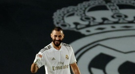 Benzema laughed at Le Graet's comments. AFP