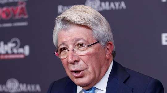 Enrique Cerezo defended Bartomeu. EFE