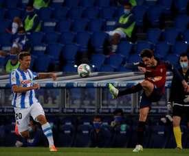Nacho Vidal cree que Osasuna debe jugar sin ningún complejo. EFE/Archivo