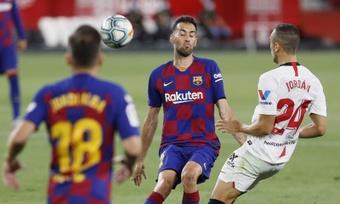 Barça encontra em Ajax o substituto para Busquets. EFE/ José Manuel Vidal
