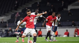 Penalty drama denies Man Utd in draw at Tottenham. EFE