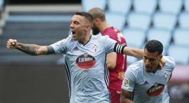 El Celta quiere bajar a 10 millones el precio de Murillo. EFE/Lavandeira Jr.