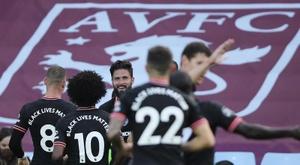 Chelsea vence o Aston Villa de virada. EFE/EPA/MOLLY DARLINGTON / NM