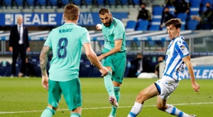 Les compos probables du match de Liga entre la Real Sociedad et le Real Madrid. efe