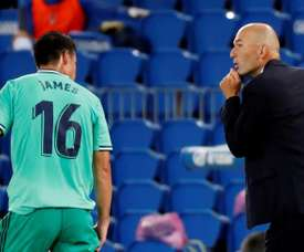 James rivela il motivo del mancato addio al Real. EFE