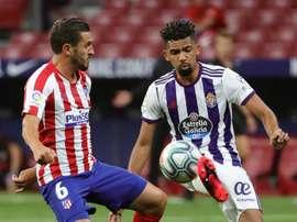 Matheus ya ha debutado con el Valladolid, pero Setién no tiene ojos para él. EFE/Archivo