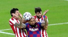 Vidal comenta a vitória do Real Madrid. EFE/JuanJo Martín/Archivo