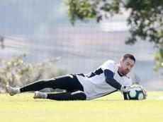 Los paraguayos de la Superliga volvieron al trabajo. EFE