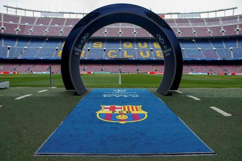 Le Barça jouera pour la dernière fois de la saison au Camp Nou. EFE