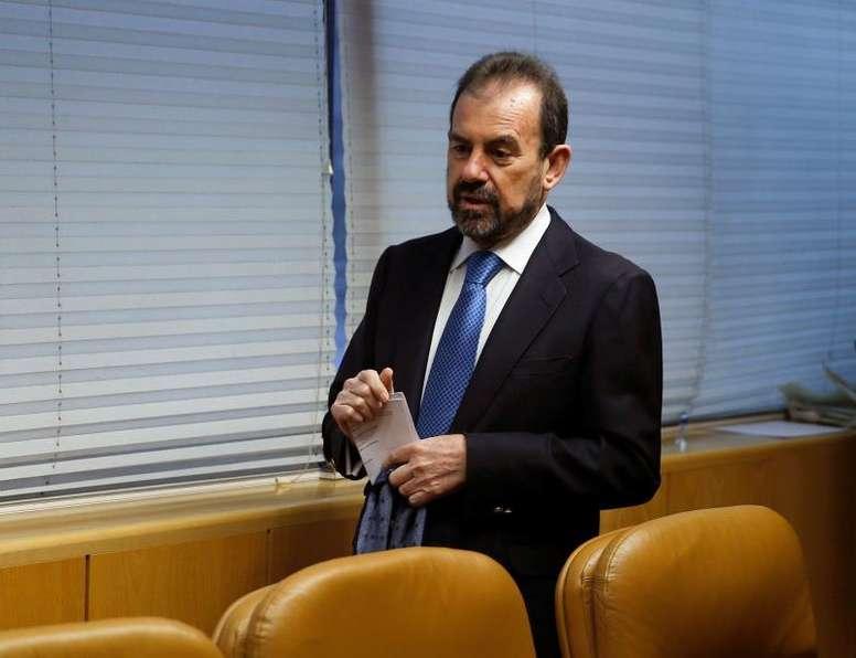 Ángel Torres no quiere vender a ningún jugador. EFE