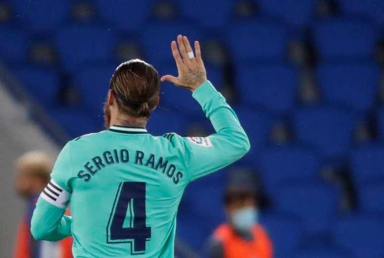 El Madrid no sabe sobrevivir sin Ramos en Champions. EFE/Juan Herrero