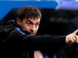 Asier Garitano não é mais treinador do Alavés. EFE/Juan Herrero/Arquivo
