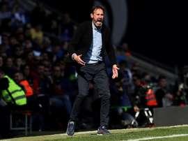 Vicente Moreno dijo que hay que ganarle al Sevilla. EFE
