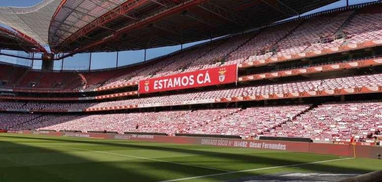 El Benfica confirmó a Verissimo como entrenador hasta final de curso. EFE/Benfica
