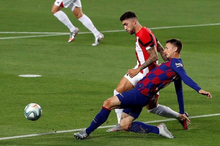 Unai Núñez espera volver a la Selección cuanto antes. EFE/Alberto Estévez/Archivo