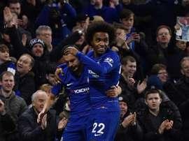 El Chelsea renueva a Pedro y Willian. EFE