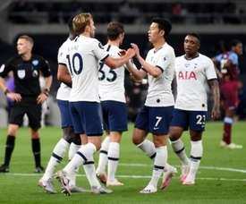El Tottenham venció al West Ham. EFE
