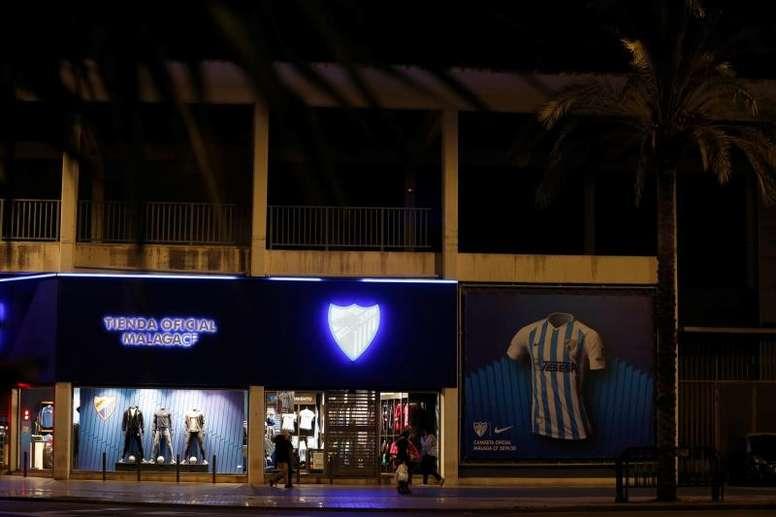 Investigan a compradores de acciones del Málaga. EFE