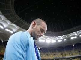 No México sonham com Cissé e Sneijder. EFE