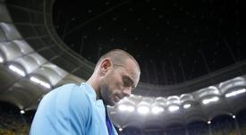 Wesley Sneijder continua revalndo detalhes da sua carreira. EFE