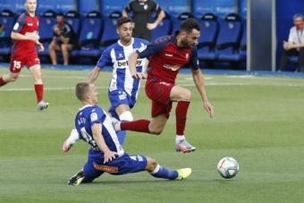 Enric Gallego ya no es jugador de Osasuna. EFE