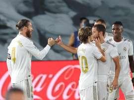 Ramos is the highest scoring defender in Europe. EFE