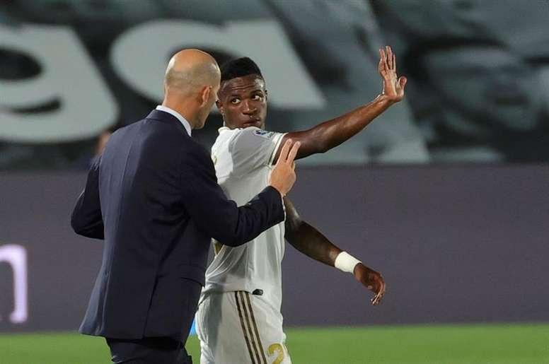 Zidane podría dejar al brasileño en el banquillo. EFE
