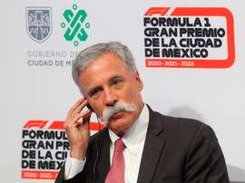 El presidente y director general de la Fórmula Uno, el irlandés Chase Carey. EFE/ Mario Guzmán/Archivo