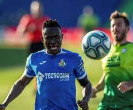 Djené se perderá el partido contra la Real Sociedad. EFE/Archivo
