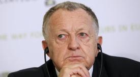 Jean-Michel Aulas descartó el fichaje de Umtiti. EFE